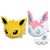 Pokémon Sun & Moon KORORIN FRIENDS BIG PLUSH JOLTEON・SYLVEON