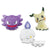 Pokémon Sun & Moon BIG ROUND PLUSH HAUNTER / LITWICK / MIMIKYU