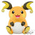 Pokémon Sun & Moon SUPER BIG PLUSH RAICHU
