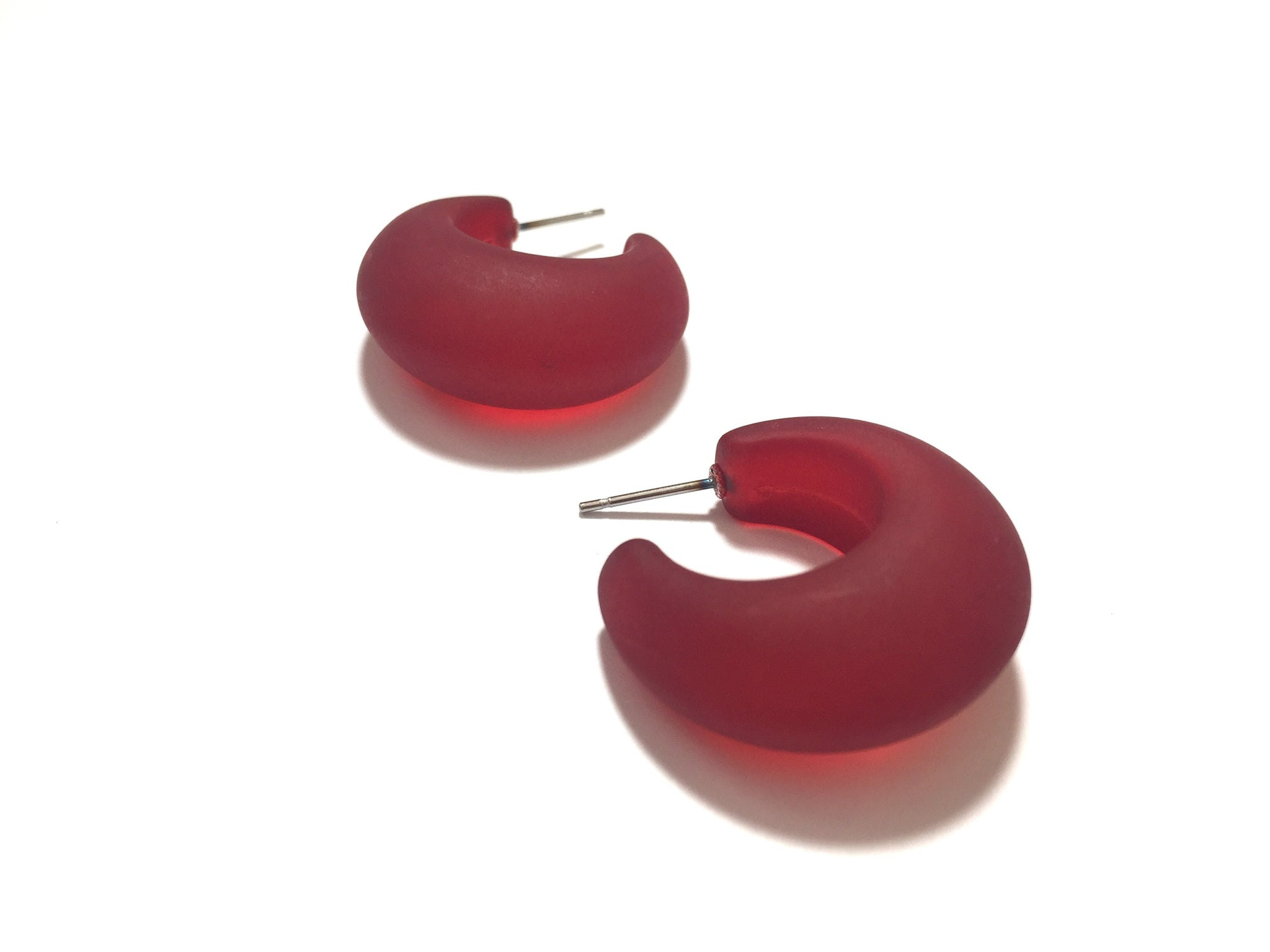 cherry red hoops