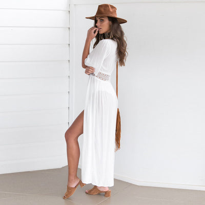 Cardigan Beach Dress