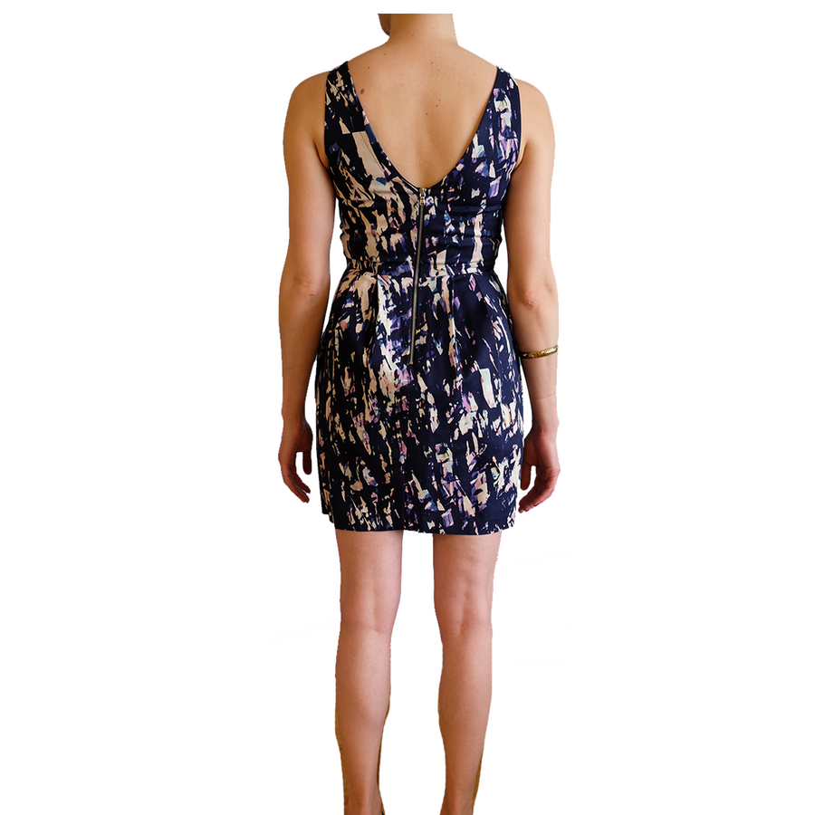 Club Monaco Printed Dress