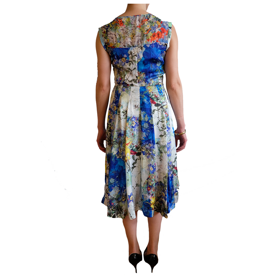 Full Circle Summer Floral Dress