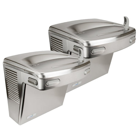 Oasis Water Fountain Bi-Level ADA with Stainless Steel Panels