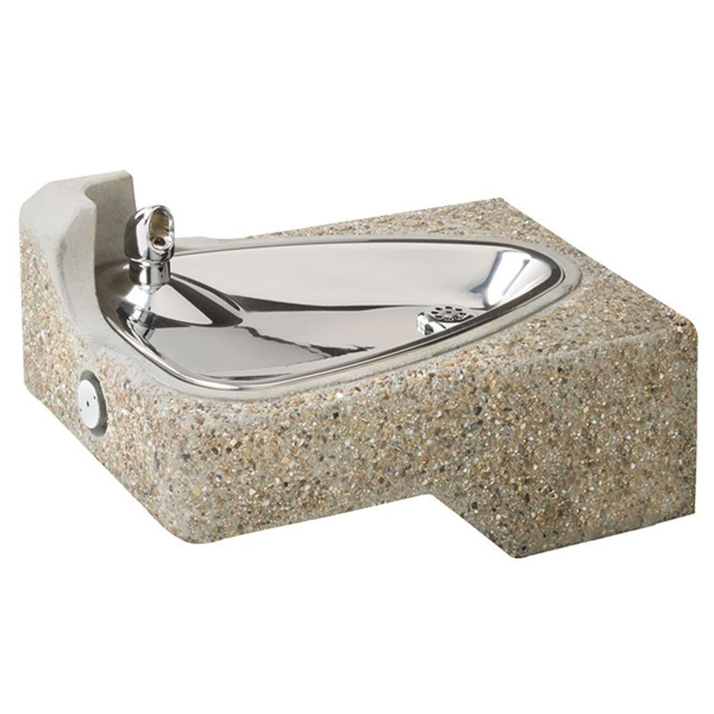 Concrete Water Fountain by Haws