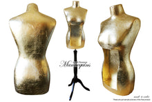 MARILYN Quirky Gilded Display Mannequin Art Bust, quirky display mannequin art bust statue home decor contemporary, AM Florence, AMFlorence