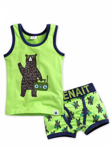 Dj Bear Under Shirt & Boxer Set
