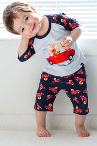Vroom Lion Pajama Set