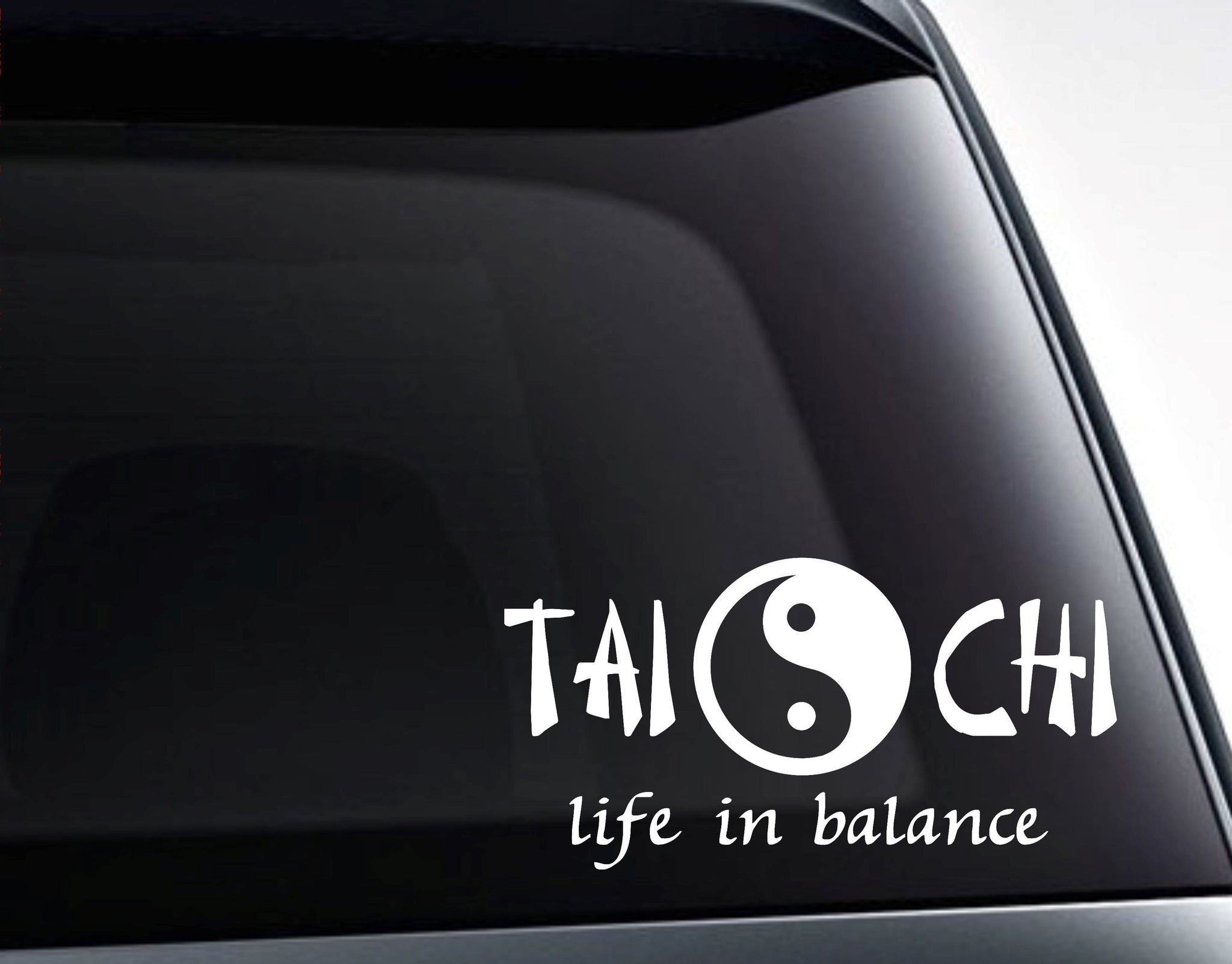 Tai Chi - Life In Balance Vinyl Decal Sticker