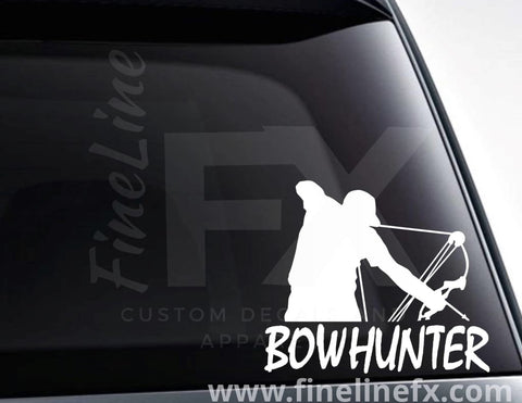Bow Hunter Archery Hunting Vinyl Decal Sticker