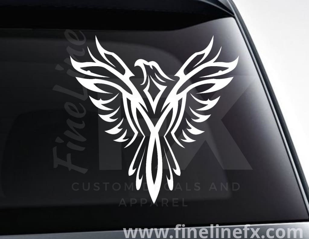 Phoenix Mythical Bird Vinyl Decal Sticker