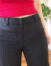 Vintage Red and White Pinstripe Trousers - XL