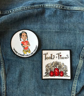 "Tools & Tiara's 4"" Logo Patch"