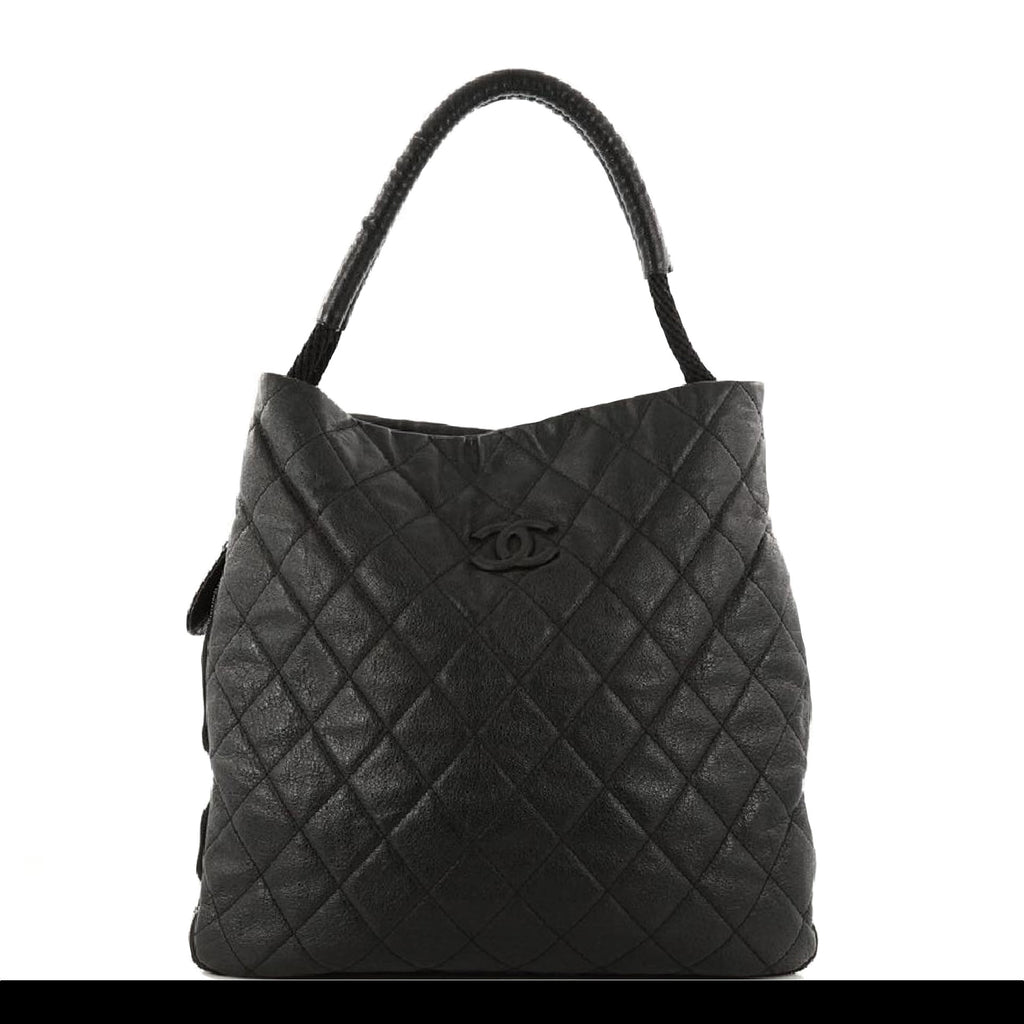 Chanel Large Classic Shopper Boating Expandable Tote