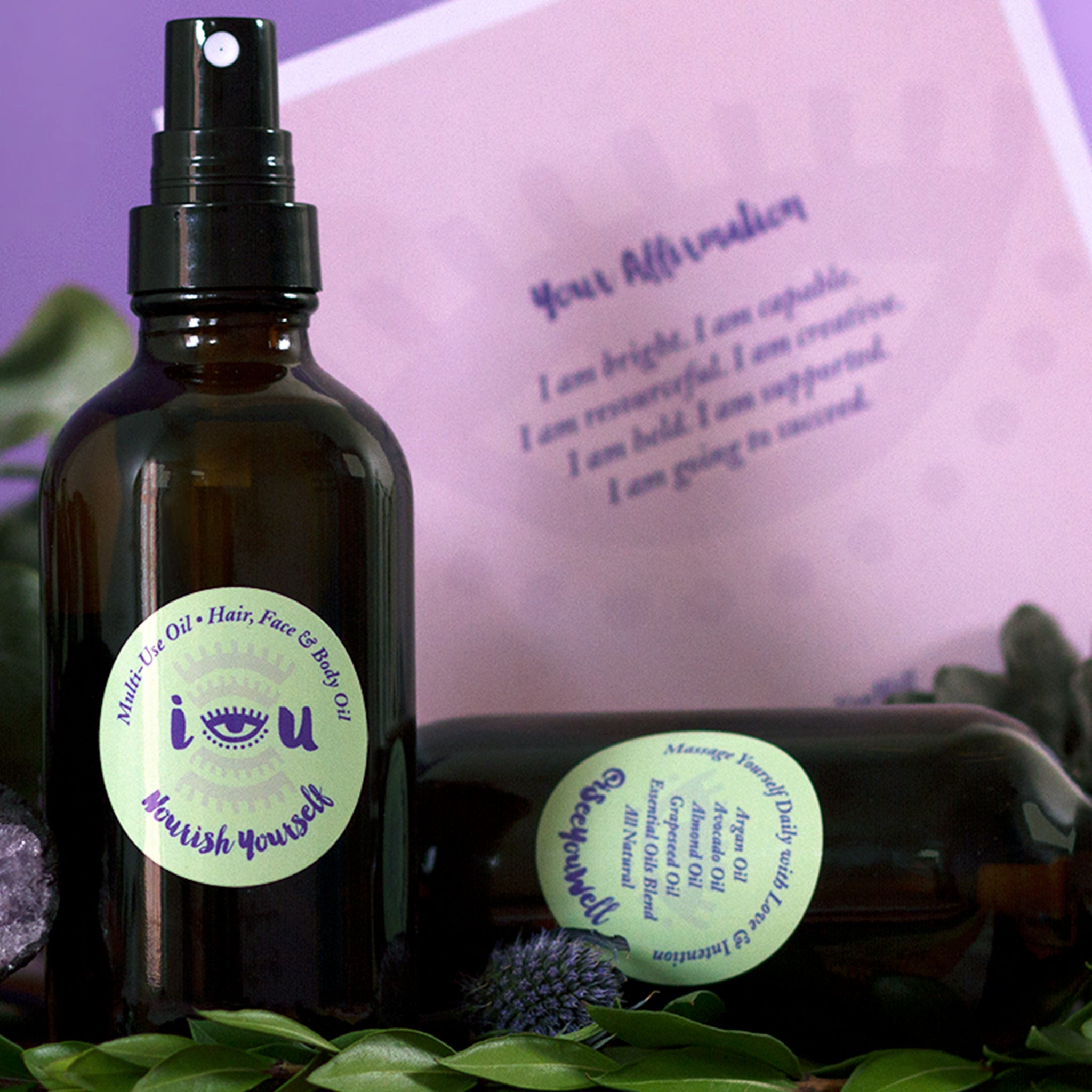 """Nourish Yourself"" Nourishing Multi-Use Oil"