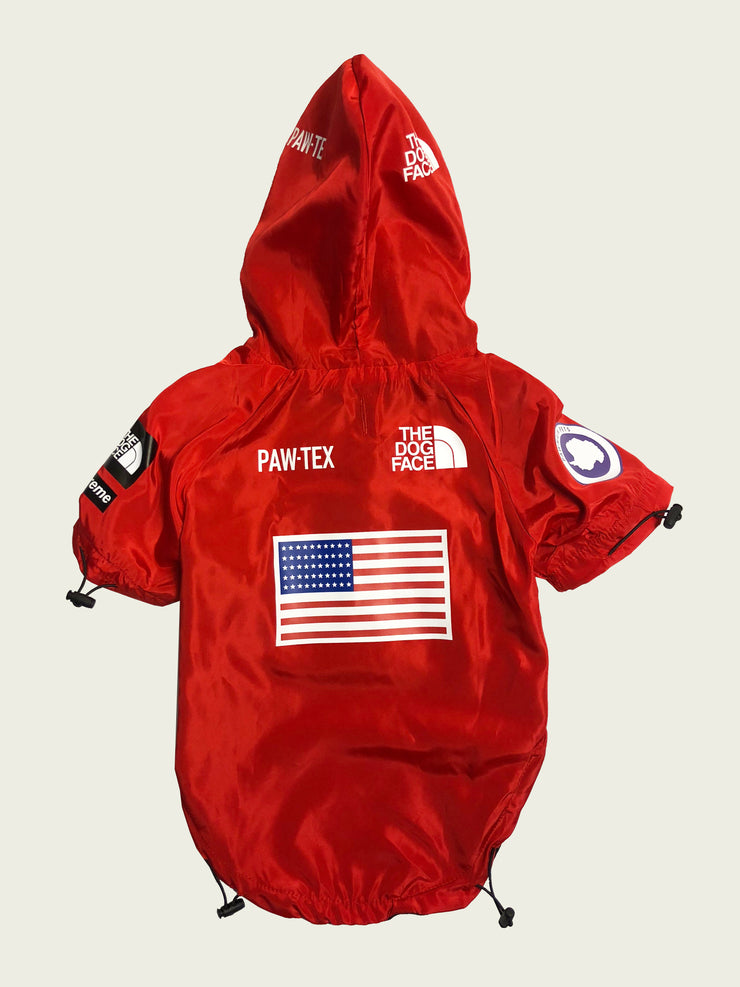 <h4>Expawdition Windbreaker Red</h4>