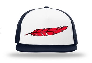 Red Feather Snap Back Flat