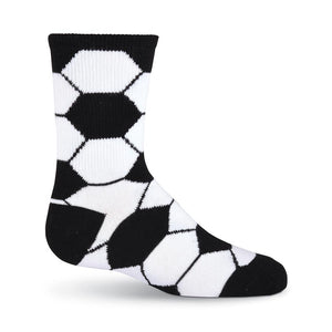 Kid's Soccer Ball Crew Socks - XEJRA