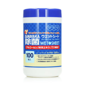 Showa Antibacterial Wet Wipes 100pcs (Wipes/Refill)