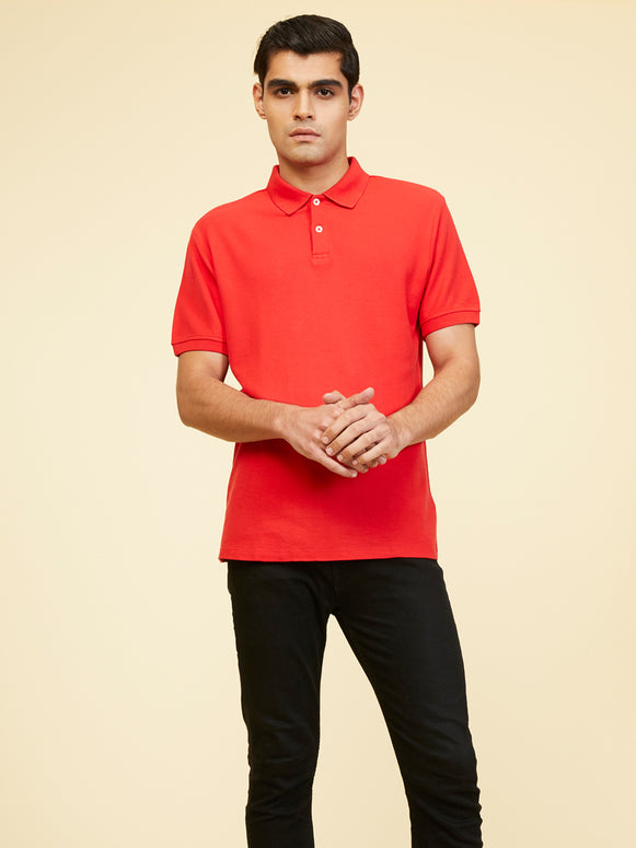 Yorkee Supima Polo - Red