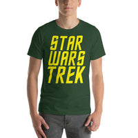 "Classic T-Shirt (Forest) - Design ""Star Wars Trek"""