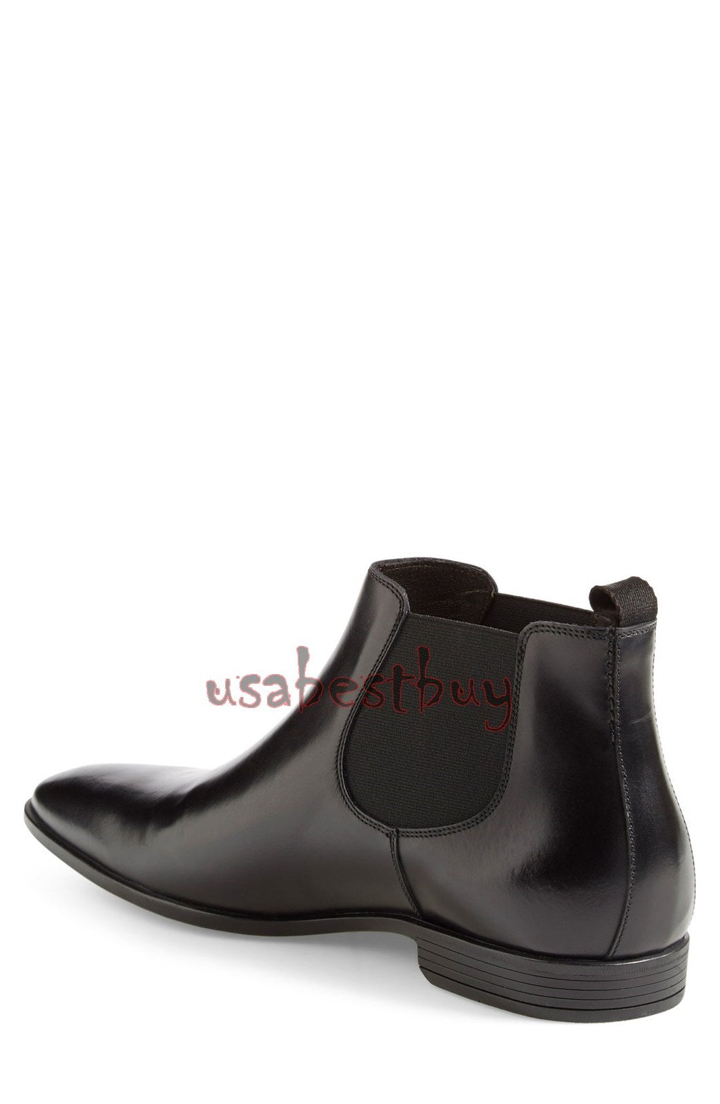 New Handmade Superb Style Black Leather Chelsea Boots, Men Stylish leather boots