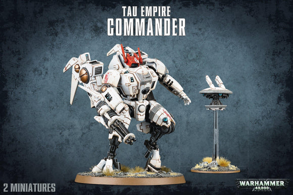 40K Tau Empire Commander