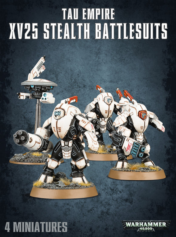 40K Tau Empire XV25 Stealth Battlesuits