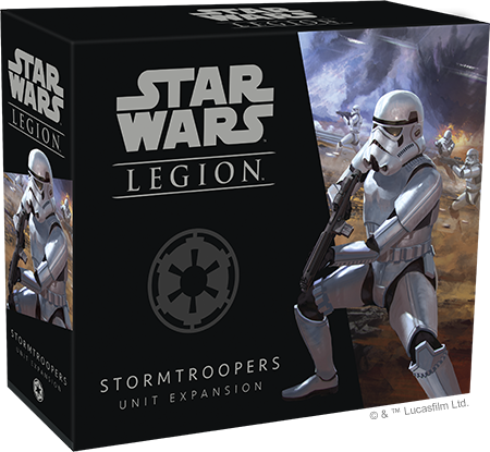 Star Wars Legion Stormtroopers Packaging