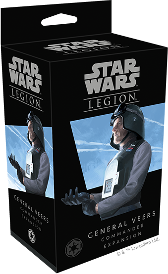 Star Wars Legion General Veers Commander Packaging