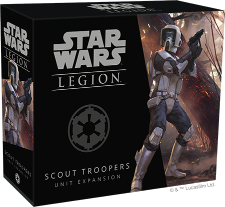 Star Wars Legion Scout Troopers Packaging