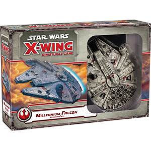 Star Wars X-Wing Millennium Falcon Expansion Pack 1st Edition