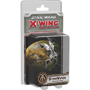 Star Wars X-Wing StarViper Expansion Pack 1st Edition