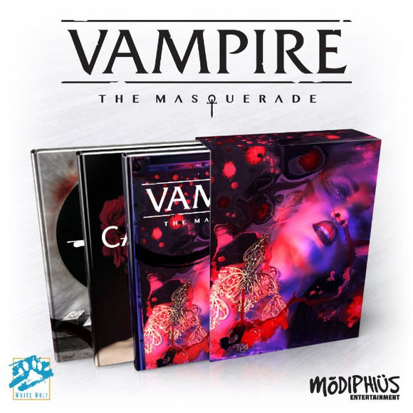 Vampire: The Masquerade 5th Edition Slipcase Set