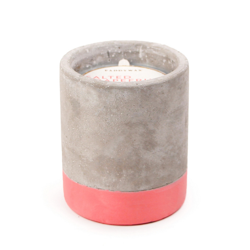 SALTED GRAPEFRUIT CONCRETE CANDLE