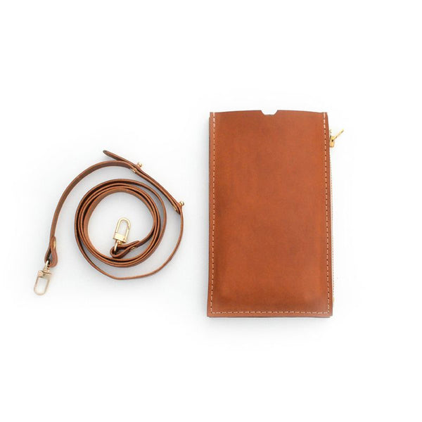 Cognac Travel Purse (Cellphone Case)