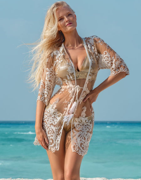 Angel Baroque Coverup - Long