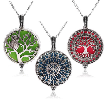Essential Oil Necklaces Personal Diffusers