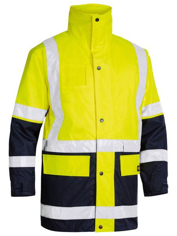 BISLEY 5 IN 1 RAIN JACKET - REDZ WORKWEAR + TOOLS NORTH LAKES