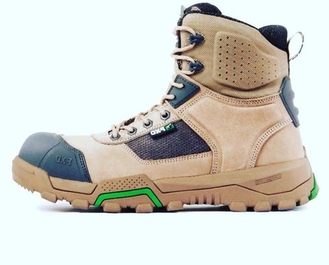 FXD WB◆1 6.0 SAFETY WORK BOOTS 3 GREAT COLOURS - REDZ WORKWEAR + TOOLS NORTH LAKES