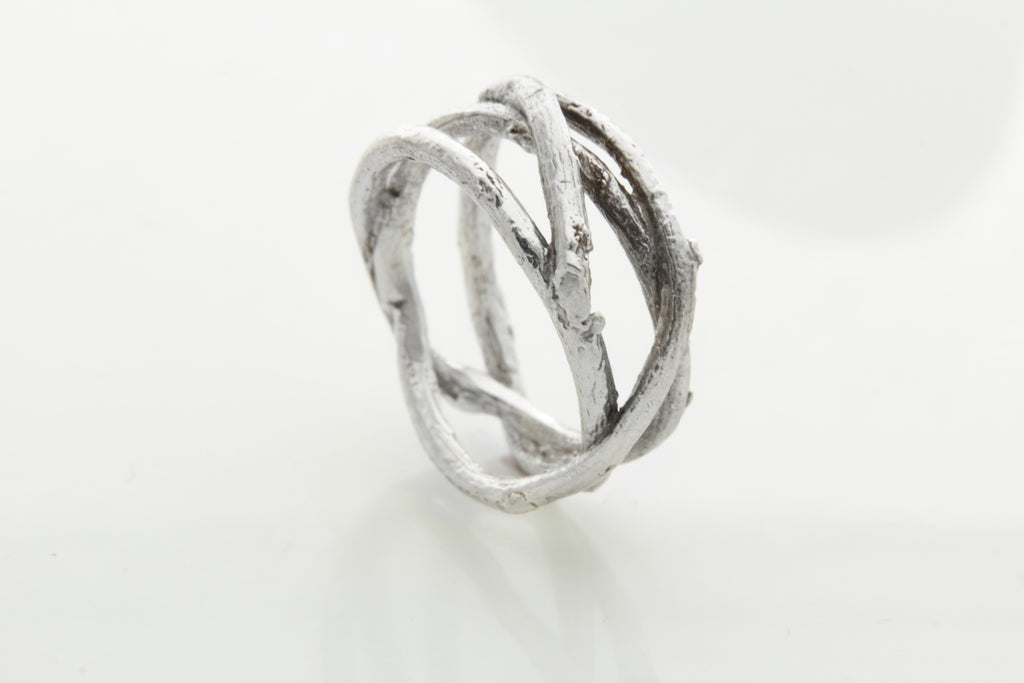 Silver Tree Ring UNISEX