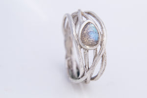 Labradorite Tree Ring