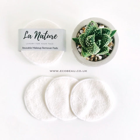Eco Beau La Nature Reusable Makeup Remover Pads
