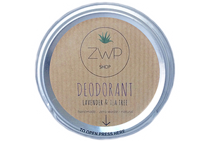 Lavender & Tea Tree Deodorant 60g - Zero Waste Path Shop