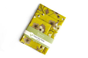 Rowen Stillwater Vegan Wax Wraps Autumn Flowers 3 pack