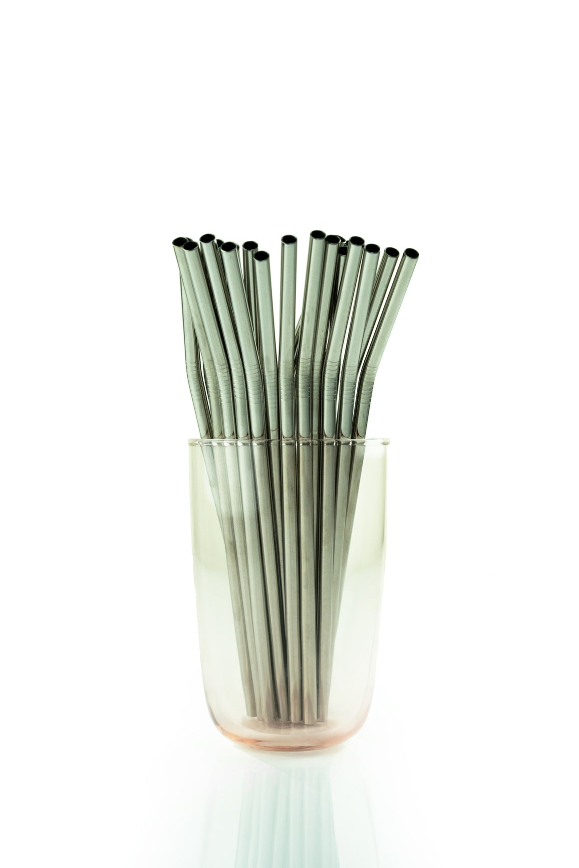 Stainless Steel Reusable Straw (Bent)