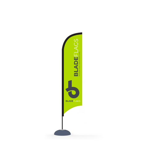 Blade Flag - 10ft Outdoor Advertising Flags