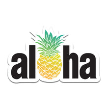 Aloha Pineapple Sticker