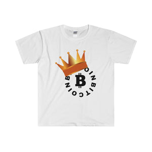 B Coin Big Daddy Softstyle® Adult T-Shirt - bitcointweaker