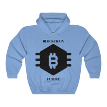 Blockchain Future Unisex Heavy Blend Hooded Sweatshirt - bitcointweaker